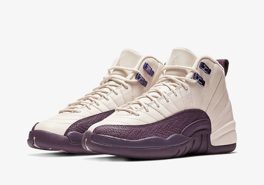 Wholesale Cheap Nikes Air Jordan 12 Desert Sand-Pro Purple 510815-001