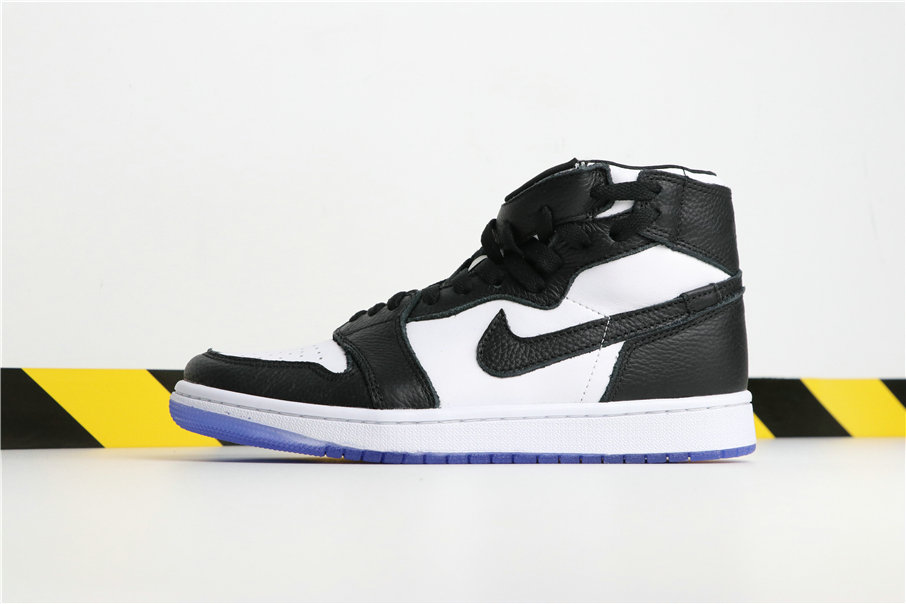 new arrival e5f67 d526e Wholesale Cheap Nikes Air Jordans 1 Rebel Black White Noir Blanc AT4151-010