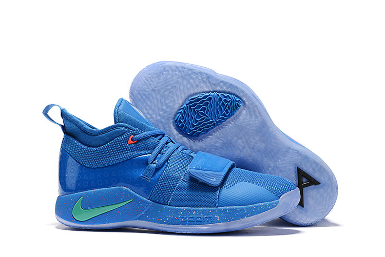 Wholesale Cheap PlayStation x Nike PG 2.5 Royal Blue Multi-Color BQ8388-900