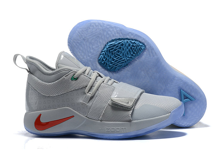 Wholesale Cheap PlayStation x Nike PG 2.5 Wolf Grey