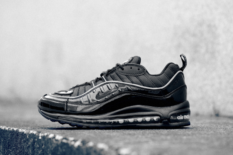 Cheap Wholesale Supreme x NikeLab Air Max 98 Black