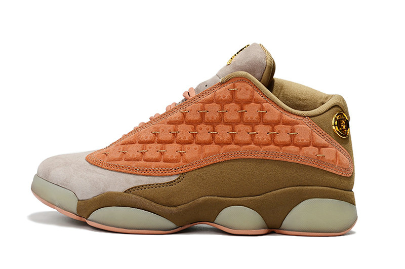 Wholesale Cheap WMNS Nike Air Jordans 13 Retro Low NRG CT Sepastone Terra Blush AT3102 200