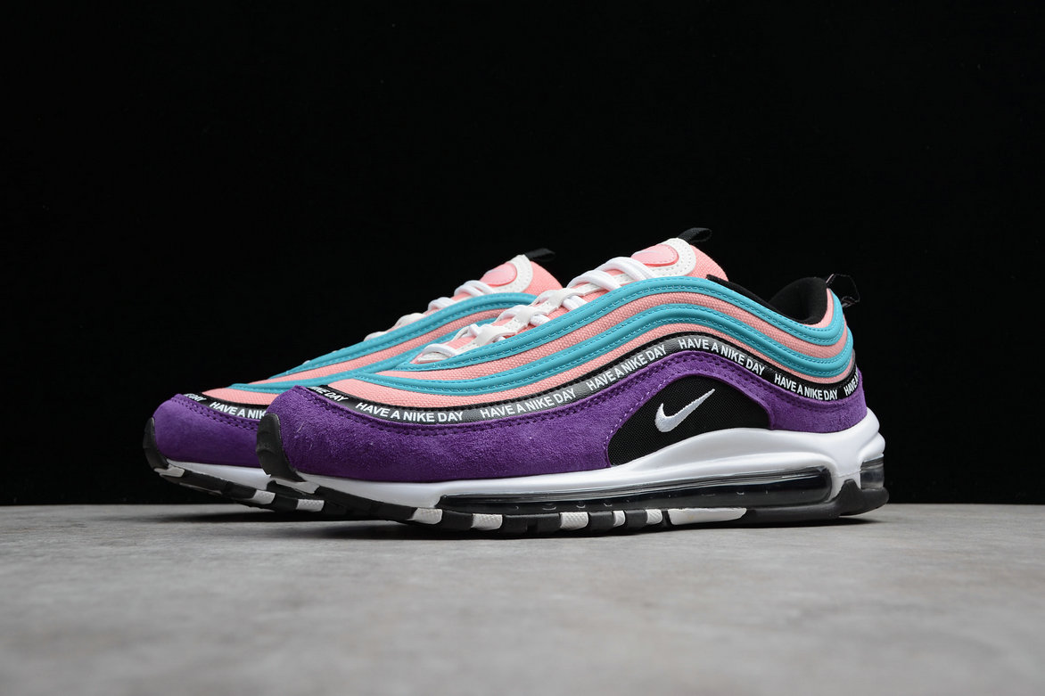 Wholesale Cheap Waomens Nike Air Max 97 ND BQ9130-400 Storm Green White Aluminum Black Tempete Green Blanc Noir