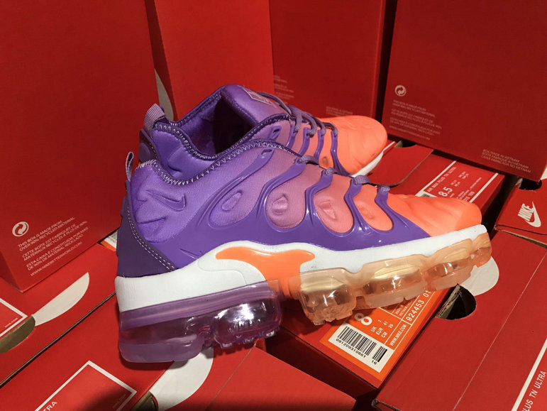buy online 38624 be8a1 Cheap Womens NikeLab Air VaporMax Plus Purple Orange White