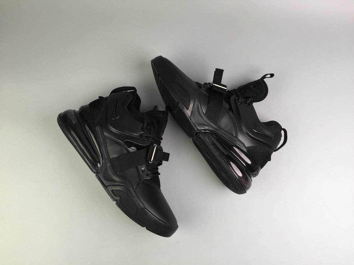 Cheap Wholesale Wholesale Cheap Wholesaleest Nike Air Force 270 AH6772-010 Triple Black