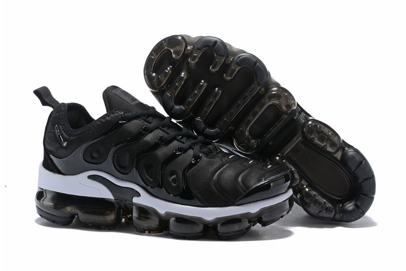 Cheap Wholesaleest Womens Nike VaporMax Plus Trainers Anthracite Black-White Online Sale