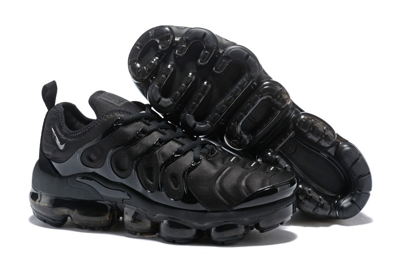 Cheap Wholesaleest Womens Nike VaporMax Plus Triple Black All Black To Buy
