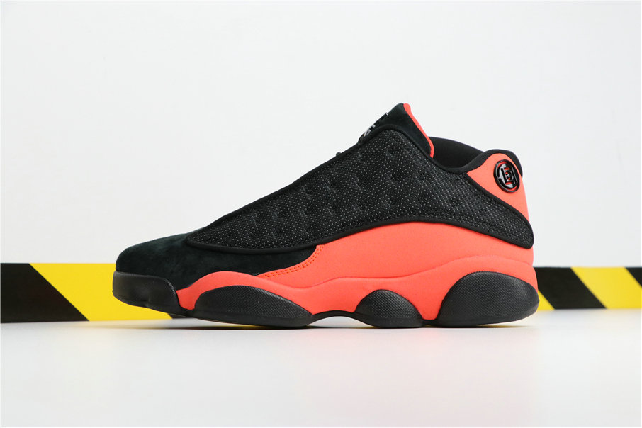Wholesale Cheap Clot x Nikes Air Jordans 13 Low Black Infrared 23 AT3102-006