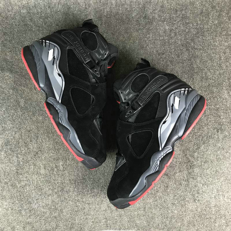 Jordan Brand The Air Jordan 8 Black Cement