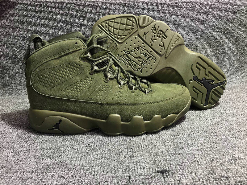 Jordan Brand The Air Jordan 9 Army Green