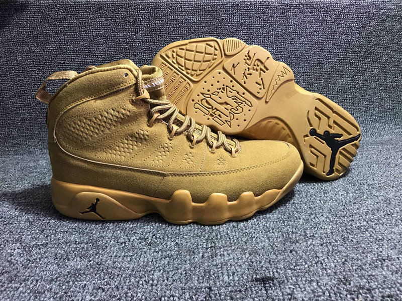 Jordan Brand The Air Jordan 9 Wheat