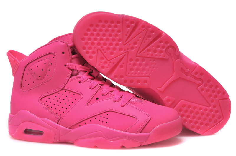 Jordan Brand The Womens Air Jordan 6 GS Pink