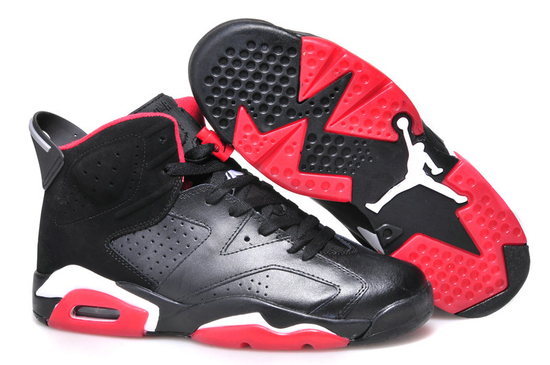 Jordan Brand The Womens Air Jordan 6 GS Red Black White