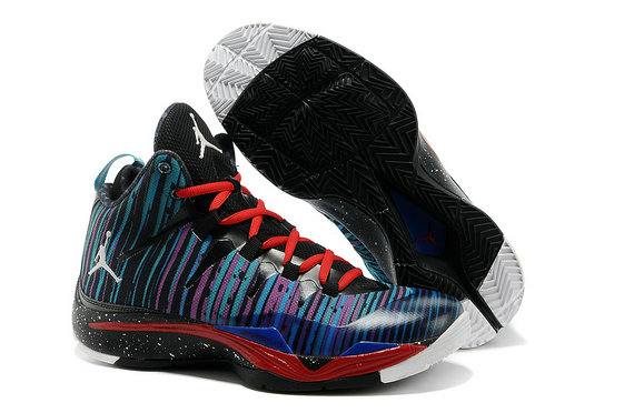 Jordan Superfly 2 New Star Purple Blue Red