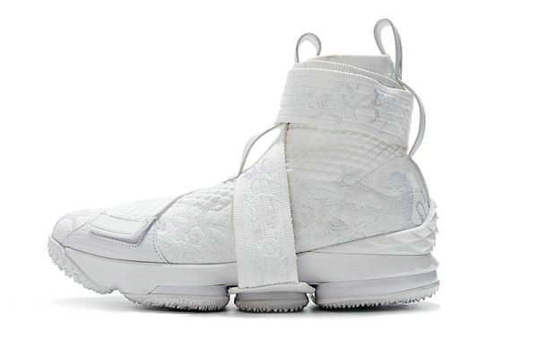 df7f202f780 Cheap Wholesale KITH x Nike LeBron 15 Lifestyle City of Angels Triple White  Mens Basketball Shoes