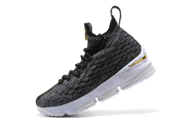 Cheap Wholesale KITH x Nike LeBron 15 SVSM Dark Green Gold-White Mens Basketball Shoes