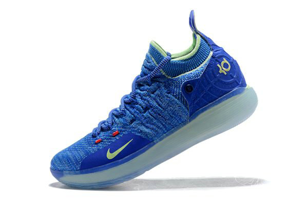 Cheap Wholesale Kevin Durants Nike KD 11 Paranoid Bright Blue Volt For Sale