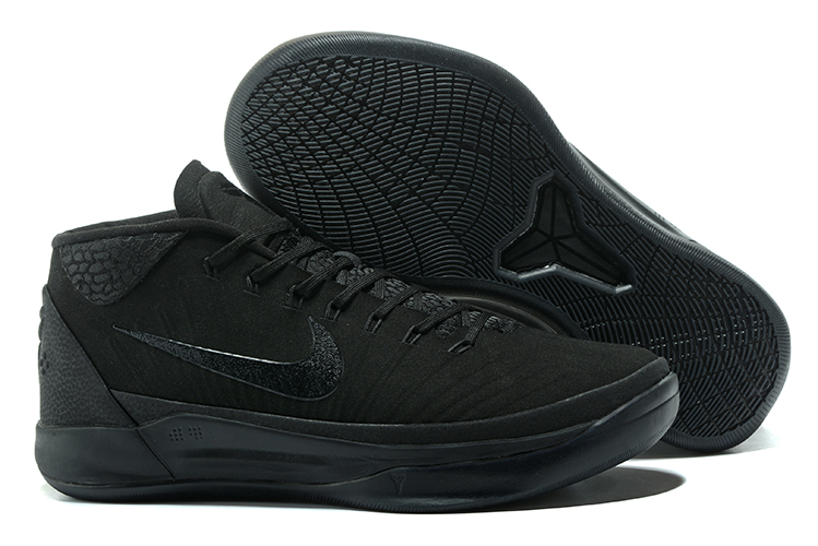 Kobe Sneakers Cheap Wholesale Nike Kobe A.D Mid All Black