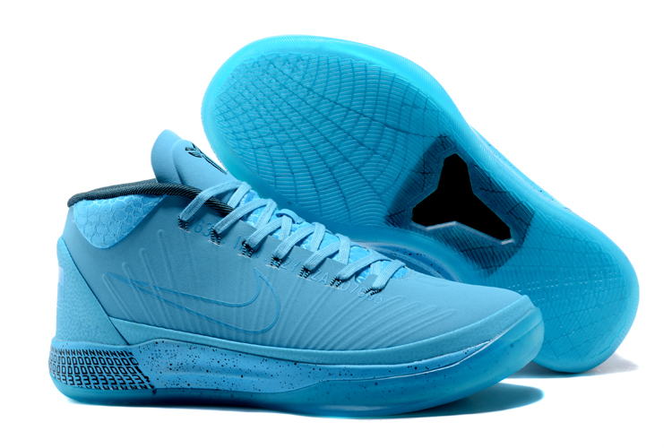 Kobe Sneakers Cheap Wholesale Nike Kobe A.D Mid Aqua Blue