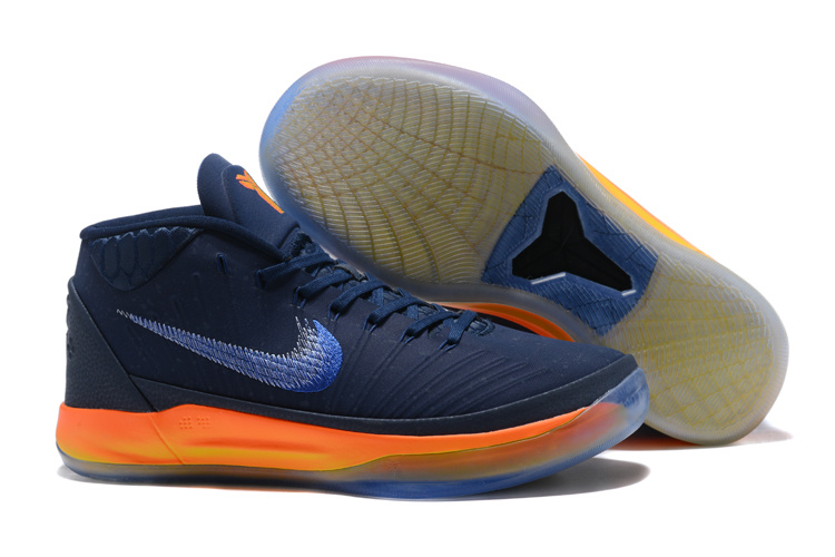 Kobe Sneakers Cheap Wholesale Nike Kobe A.D Mid Navy Blue Yellow