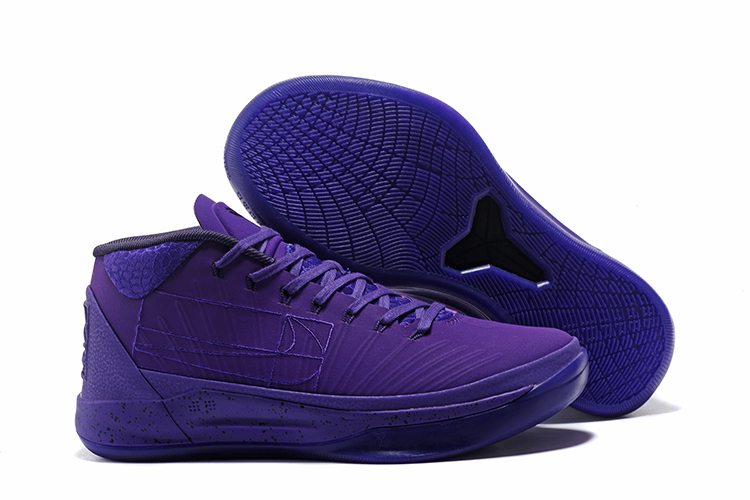 Kobe Sneakers Cheap Wholesale Nike Kobe A.D Mid Purple Blue