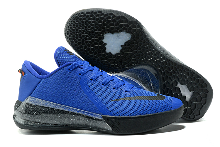 Kobe Sneakers Cheap Wholesale Nike Zoom Venomenon Kobe 6 Black Royal Blue