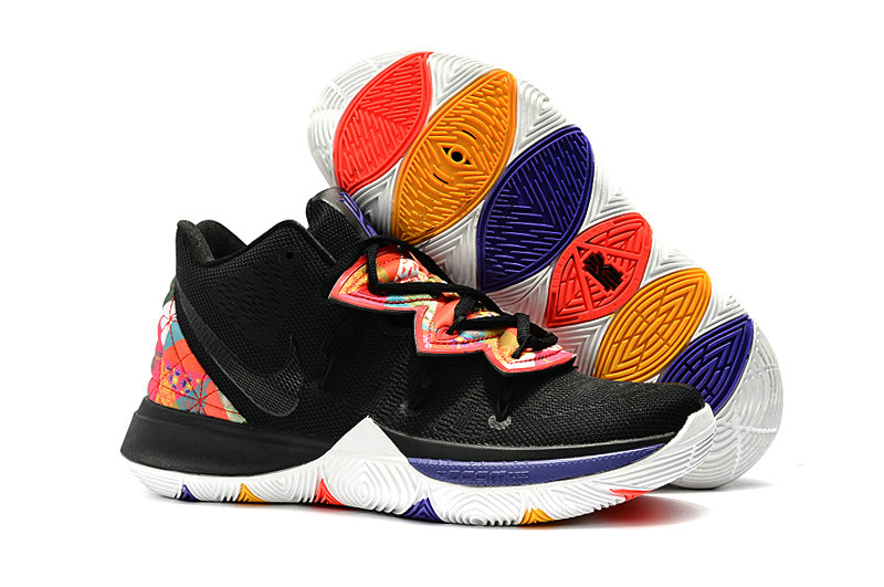 Wholesale Cheap Kyrie Irvings For Womens Nike Kyrie 5 Be True Black