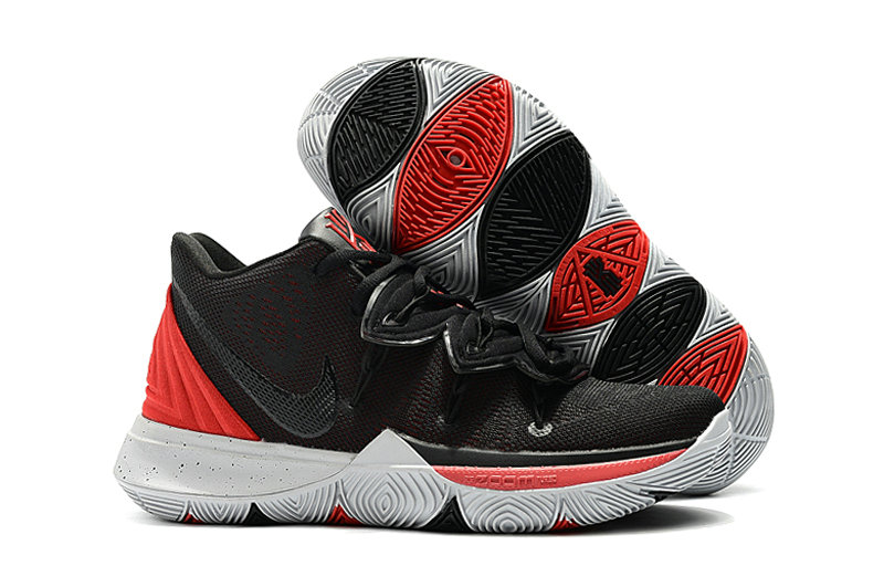 Wholesale Cheap Kyrie Irvings For Womens Nike Kyrie 5 Red Black White