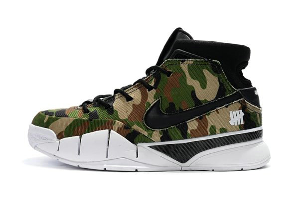 Cheap Wholesale Latest Undefeated x Nike Zoom Kobe 1 Protro Camo Mens Size For Sale