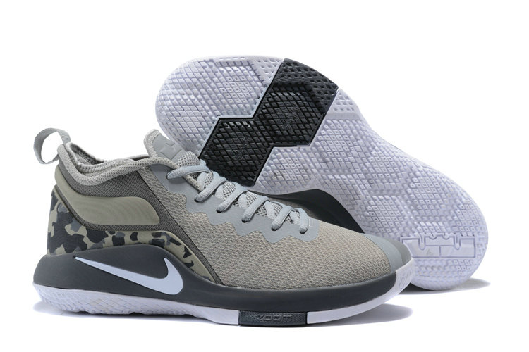 Lebron Sneakers Cheap Wholesale Nike Lebron Witness 2 Grey White