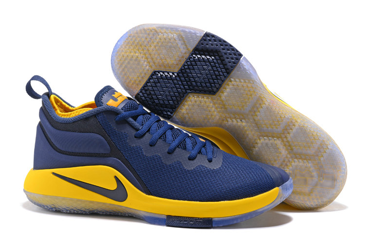 Lebron Sneakers Cheap Wholesale Nike Lebron Witness 2 Yellow Blue