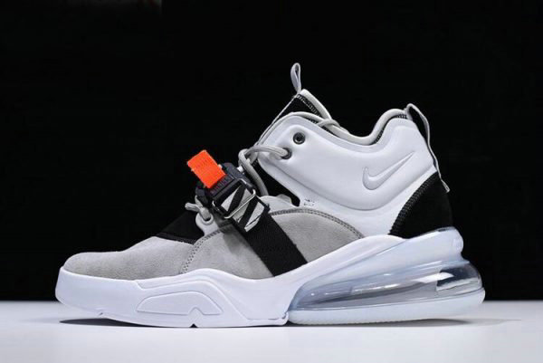 Cheap Wholesale Mens Nike Air Force 270 Wolf Grey Dark Grey AH6772-002