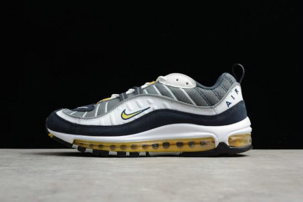 Cheap Wholesale Mens Nike Air Max 98 OG Tour Yellow 640744-105