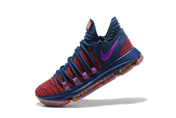 Cheap Wholesale Mens Nike KD 10 All-Star Ocean Fog Fuchsia Blast-Hyper Crimson 897817-400
