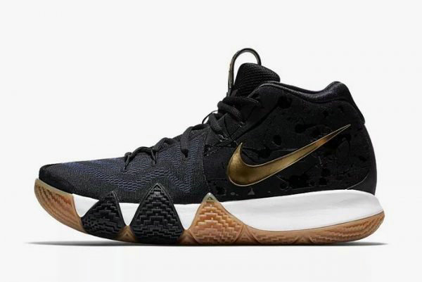 3cddd70d735 Cheap Wholesale Mens Nike Kyrie 4 Pitch Blue Metallic Gold Basketball Shoes  943807-403