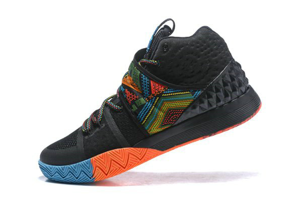 Cheap Wholesale Mens Nike Kyrie S1 Hybrid BHM Black Multi-Color Free Shipping