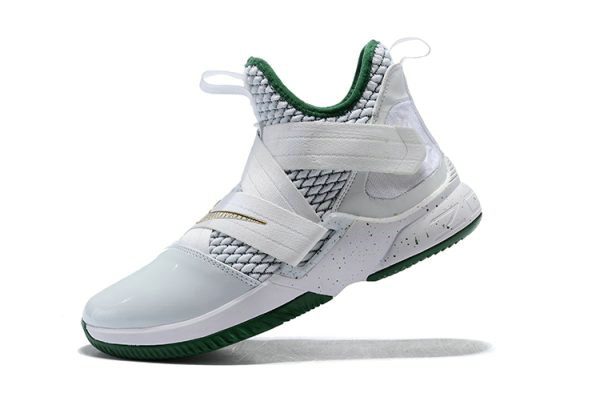 Cheap Wholesale Mens Nike LeBron Soldier 12 SVSM Home White Multi-Color AO2609-100