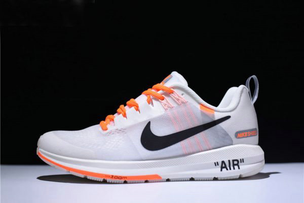 ac921b161785 Cheap Wholesale Mens Off-White Virgil Abloh x Nike Air Zoom Structure 21  White Orange