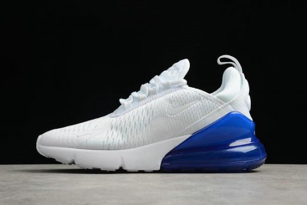 5786457e4d86db Cheap Wholesale Mens and WMNS Nike Air Max 270 White Photo Blue AH8050-105  For
