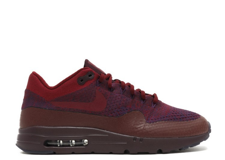 Cheap Wholesale NIKE AIR MAX 1 ULTRA FLYKNIT MENS SHOE 856958-566 GRAND PURPLE TEAM RED DEEP BURGUNDY