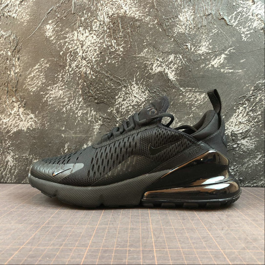 Wholesale Cheap NIKE AIR MAX 270 Womens AH6789-006 Black Noir