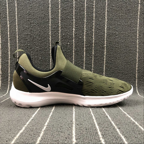 Wholesale NIKE EPIC REACT FLYKNIT AA7410-501 ARMY GREEN VERT FONCE