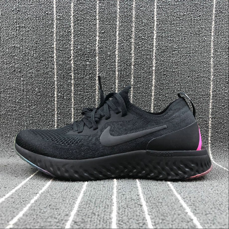 Wholesale NIKE EPIC REACT FLYKNIT AR3772-001 BLACK PINK BLAST NOIR ROSE BLAST NOIR