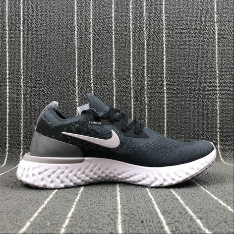 db93e547883d Wholesale NIKE EPIC REACT FLYKNIT WOMENS AJ7283-995 BLACK AND GREY PRINTING  LMPRESSION NOIR ET
