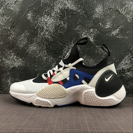 Wholesale Cheap NIKE HUARACHE E.D.G.E. TXT Mens Womens AO1697-001 Black Vast Grey Game Royal Noir Jeu Royal Gris Infin