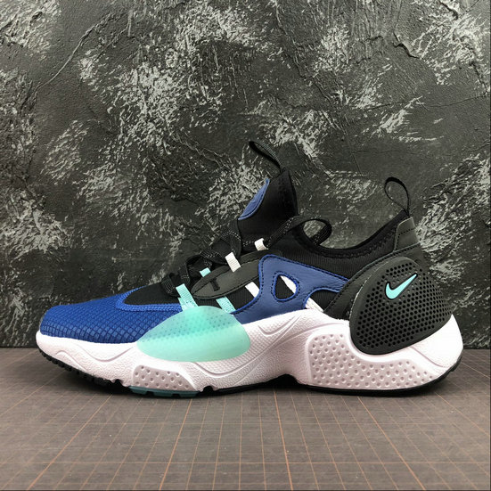 Wholesale Cheap NIKE HUARACHE E.D.G.E. TXT Mens Womens BQ5205-400 Indigo Force Aurora Green
