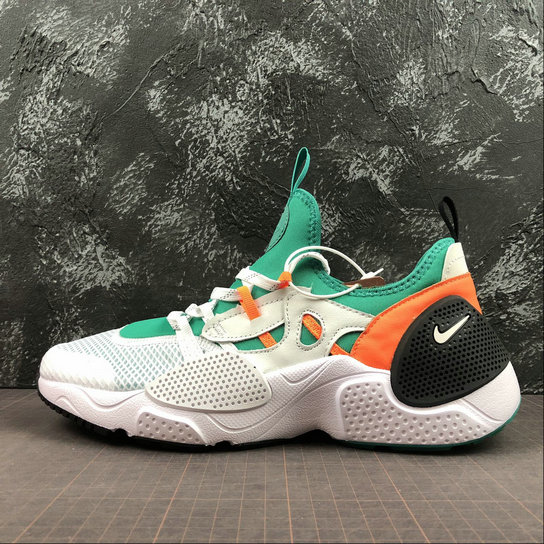 Wholesale Cheap NIKE HUARACHE E.D.G.E. TXT Mens Womens Bq5206-100 White Clear Emerald Blanc