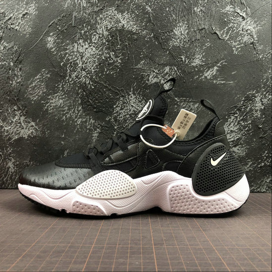 Wholesale Cheap NIKE HUARACHE E.D.G.E. TXT QS Mens Womens AV3598-001 Black White Noir Blanc