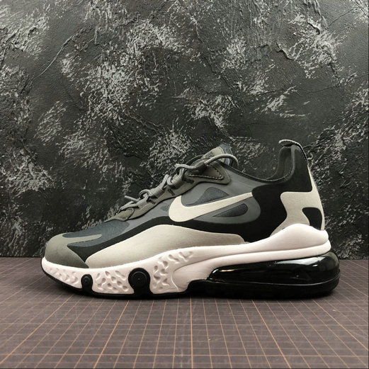 Cheap Wholesale NIKE REACT AIR MAX AQ9087-001 M.Grey L.grey Black M.Gris L.Gris Noir