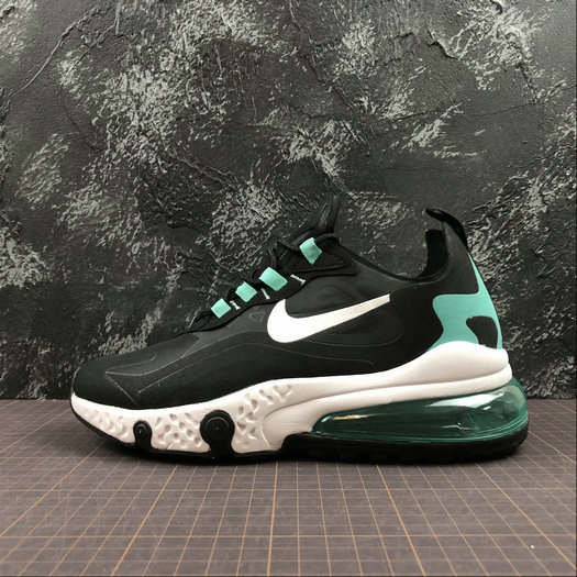 Cheap Wholesale NIKE REACT AIR MAX AQ9087-013 Black White Jade Noir Blanc Jade